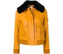 Jacke mit abnehmbarem Kragen