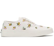 Sneakers mit Zitronen-Print