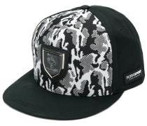 camouflage print snapback hat