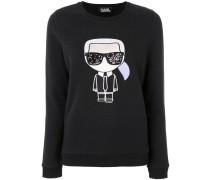 iconic Karl print sweatshirt
