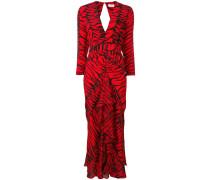 'Rose' Kleid mit V-Ausschnitt