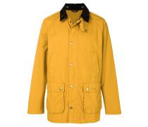 'Bedale' Jacke mit kontrastierendem Kragen