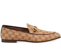 'Jordaan' Canvas-Loafer mit GG