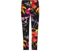 Leggings mit floralem Design
