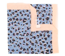 Schal mit Leoparden-Print