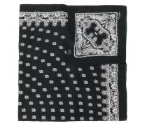 Bandana embroidered scarf