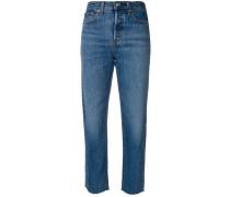 Jeans mit geradem Schnitt
