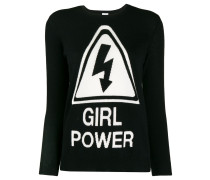 'Girl Power' Pullover