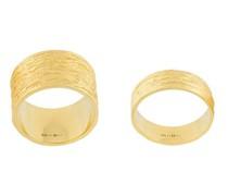 embossed rings