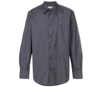 firm poplin cutaway shirt