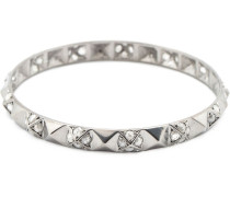 18kt Weißgoldarmreif mit Diamanten
