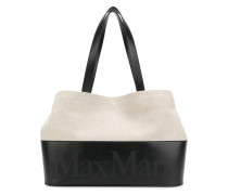 printed logo shopping bag