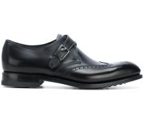 Oxford-Schuhe mit seitlicher Schnalle