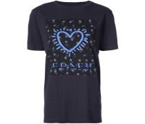 Keith Haring heart print T-shirt - Unavailable