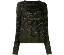 'Etamina' Intarsien-Pullover