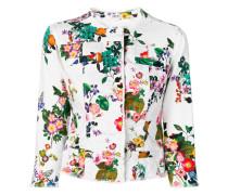'Kate' Jacke mit Blumen-Print