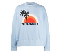 "Sweatshirt mit ""Sunset""-Logo"