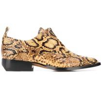 Loafer mit Python-Print