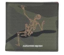 "Kartenetui mit ""Dancing Skeleton""-Print"