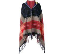 oversized tartan scarf