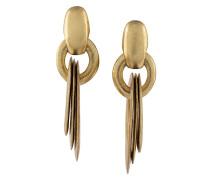 circular maxi drop earrings