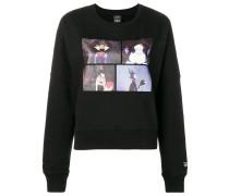 Sweatshirt mit Disney-Print