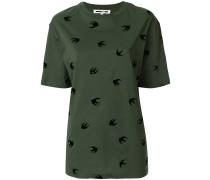 T-Shirt mit Schwalben
