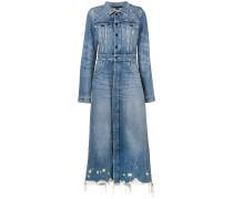 Klassischer Jeans-Trenchcoat