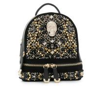 embellished skull backpack
