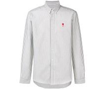 Button-Down-Hemd mit Patch