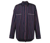 striped pajama shirt
