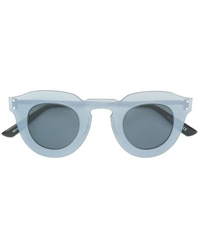 thick round frame sunglasses