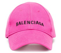 Pink Logo Embroidered Cap