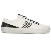 'Play' Sneakers mit Schachbrettmuster