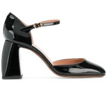 curved heel sandals