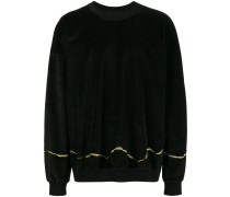 'Clerck' Pullover mit Stickerei
