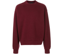 Klassisches Fleece-Sweatshirt