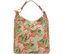 beaded embroidered shoulder bag