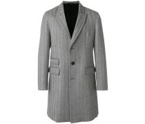 chevron print coat