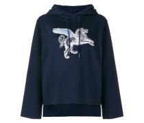 Sweatshirt mit Löwenmotiv