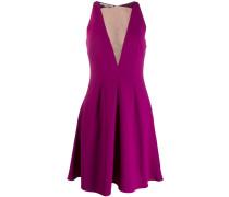 Kleid mit semi-transparentem Einsatz