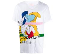 """T-Shirt mit """"Dopey""""-Print"""