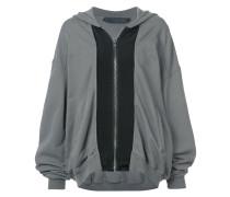 extra-longsleeved zip jacket
