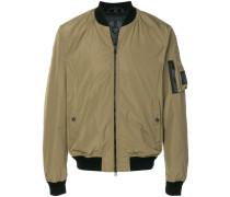 Mallison micro poly bomber jacket