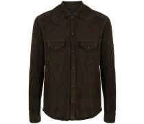 suede shirt jacket