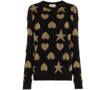 Pullover mit Herzen und Sternen