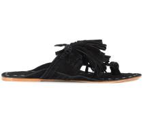 Scaramouche tasseled sandals