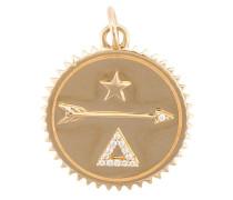 18kt 'Dream' Gelbgoldanhänger mit Diamanten