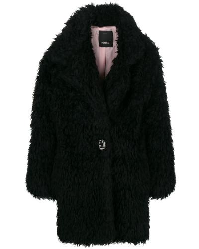Overisized-Mantel aus Faux Fur