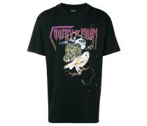 T-Shirt mit Eulen-Print